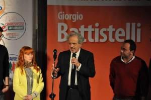 Professor Giorgio Battistelli, ha rappresentato, perdendo, i civatiani ed altre frange sinistre di Albano.