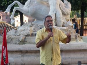 Maurizio Aversa, PCdI, interviene alla manifestazione per la legalità a Marino,